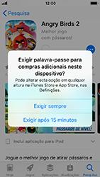 Apple iPhone SE - iOS 12 - Aplicações - Como pesquisar e instalar aplicações -  15
