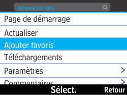 Nokia Asha 210 - Internet - Navigation sur Internet - Étape 6