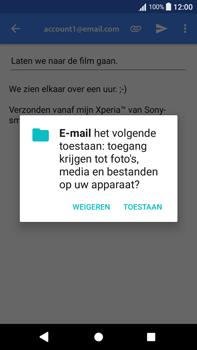 Sony Xperia L2 - E-mail - hoe te versturen - Stap 11