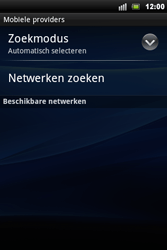Sony Ericsson Xperia Mini Pro - Buitenland - Bellen, sms en internet - Stap 8