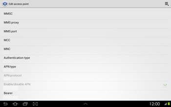 Samsung P5100 Galaxy Tab 2 10-1 - Internet - Manual configuration - Step 13