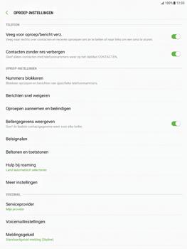 Samsung Galaxy Tab S2 9.7 - Android Nougat - Voicemail - Handmatig instellen - Stap 6