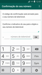 Samsung Galaxy S4 LTE - Aplicações - Como configurar o WhatsApp -  6