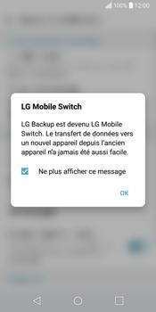 LG Q6 - Device maintenance - Retour aux réglages usine - Étape 6