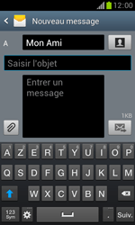 Samsung Galaxy Trend - Contact, Appels, SMS/MMS - Envoyer un MMS - Étape 11