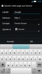 Bouygues Telecom Ultym 4 - Internet et connexion - Naviguer sur internet - Étape 8