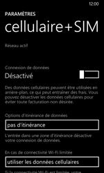 Nokia Lumia 635 - Internet - Désactiver les données mobiles - Étape 6