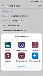 Huawei P10 Lite - E-mail - Envoi d