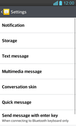 LG P710 Optimus L7 II - SMS - Manual configuration - Step 6