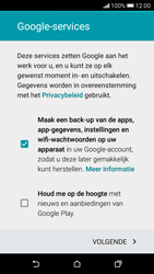 HTC Desire 626 - Applicaties - Account aanmaken - Stap 16
