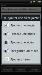 Sony Ericsson Xperia Neo - E-mail - envoyer un e-mail - Étape 7