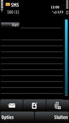 Nokia X6-00 - MMS - afbeeldingen verzenden - Stap 4