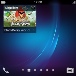 BlackBerry Q5 - Applicaties - Account aanmaken - Stap 14