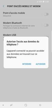 Samsung Galaxy S9 Plus - Internet et connexion - Utiliser le mode modem par USB - Étape 7