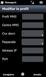Samsung I8000 Omnia II - MMS - configuration manuelle - Étape 20