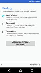 Sony Xperia X Performance (F8131) - E-mail - Handmatig instellen - Stap 21