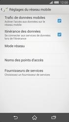 Sony Xperia Z2 - Aller plus loin - Désactiver les données à l'étranger - Étape 6