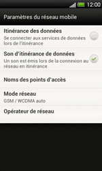 HTC T320e One V - MMS - Configuration manuelle - Étape 5