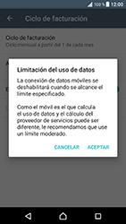 Sony Xperia XZ - Android Nougat - Internet - Ver uso de datos - Paso 10