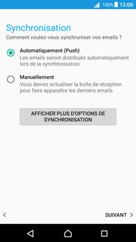 Sony Xperia Z5 Premium (E6853) - Android Nougat - E-mail - Configuration manuelle - Étape 20
