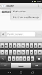 Sony Xperia Z - Mensajería - Escribir y enviar un mensaje multimedia - Paso 10