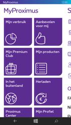 Nokia Lumia 735 - Applicaties - MyProximus - Stap 13
