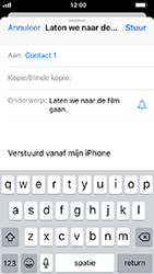 Apple iphone-5s-ios-12 - E-mail - Bericht met attachment versturen - Stap 7