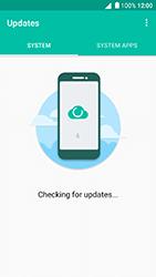 Alcatel Shine Lite - Network - Installing software updates - Step 7