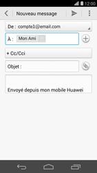 Huawei Ascend P7 - E-mail - Envoi d
