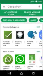 Sony Xperia XZ - Android Nougat - Aplicações - Como pesquisar e instalar aplicações -  4