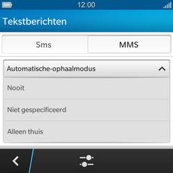 BlackBerry Q5 - MMS - probleem met ontvangen - Stap 9