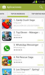 Samsung S7560 Galaxy Trend - Aplicaciones - Descargar aplicaciones - Paso 10