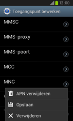 Samsung I9105P Galaxy S II Plus - Internet - handmatig instellen - Stap 14