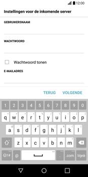 LG G6 (LG-H870) - E-mail - Handmatig instellen - Stap 13