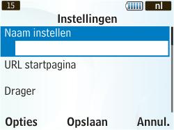 Samsung S3350 Chat 335 - Internet - Handmatig instellen - Stap 8