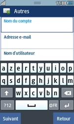 Samsung Wave 723 - E-mails - Ajouter ou modifier un compte e-mail - Étape 6
