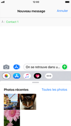 Apple iPhone 6s - iOS 12 - MMS - Envoi d