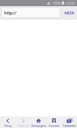 Samsung Galaxy J1 (2016) - Internet - hoe te internetten - Stap 3