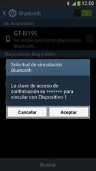 Samsung Galaxy S4 Mini - Bluetooth - Conectar dispositivos a través de Bluetooth - Paso 7