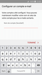 Samsung G920F Galaxy S6 - E-mail - Configuration manuelle (outlook) - Étape 9