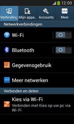 Samsung Galaxy Trend Plus (S7580) - Internet - Uitzetten - Stap 5