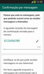 Samsung Galaxy Ace 3 LTE - Aplicações - Como configurar o WhatsApp -  8