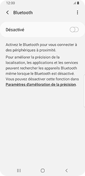 Samsung Galaxy S9 Android Pie - Bluetooth - connexion Bluetooth - Étape 8