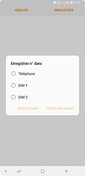 Samsung Galaxy A7 2018 - Contact, Appels, SMS/MMS - Ajouter un contact - Étape 6