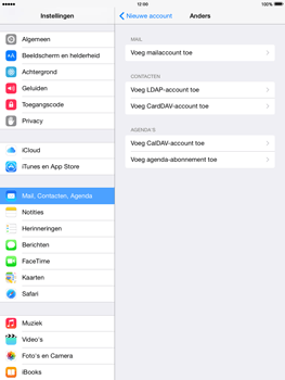 Apple iPad 2 iOS 8 - E-mail - Handmatig instellen - Stap 6