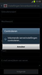 Samsung I9305 Galaxy S III LTE - E-mail - Account instellen (POP3 zonder SMTP-verificatie) - Stap 11