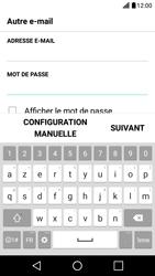 LG X Screen - E-mail - Configuration manuelle - Étape 7