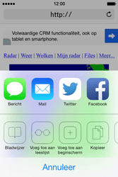 Apple iPhone 4 iOS 7 - Internet - Hoe te internetten - Stap 14