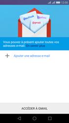 Huawei Honor 5X - E-mail - Configuration manuelle (gmail) - Étape 5