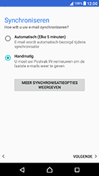 Sony Xperia X Compact (F5321) - E-mail - Account instellen (POP3 zonder SMTP-verificatie) - Stap 20